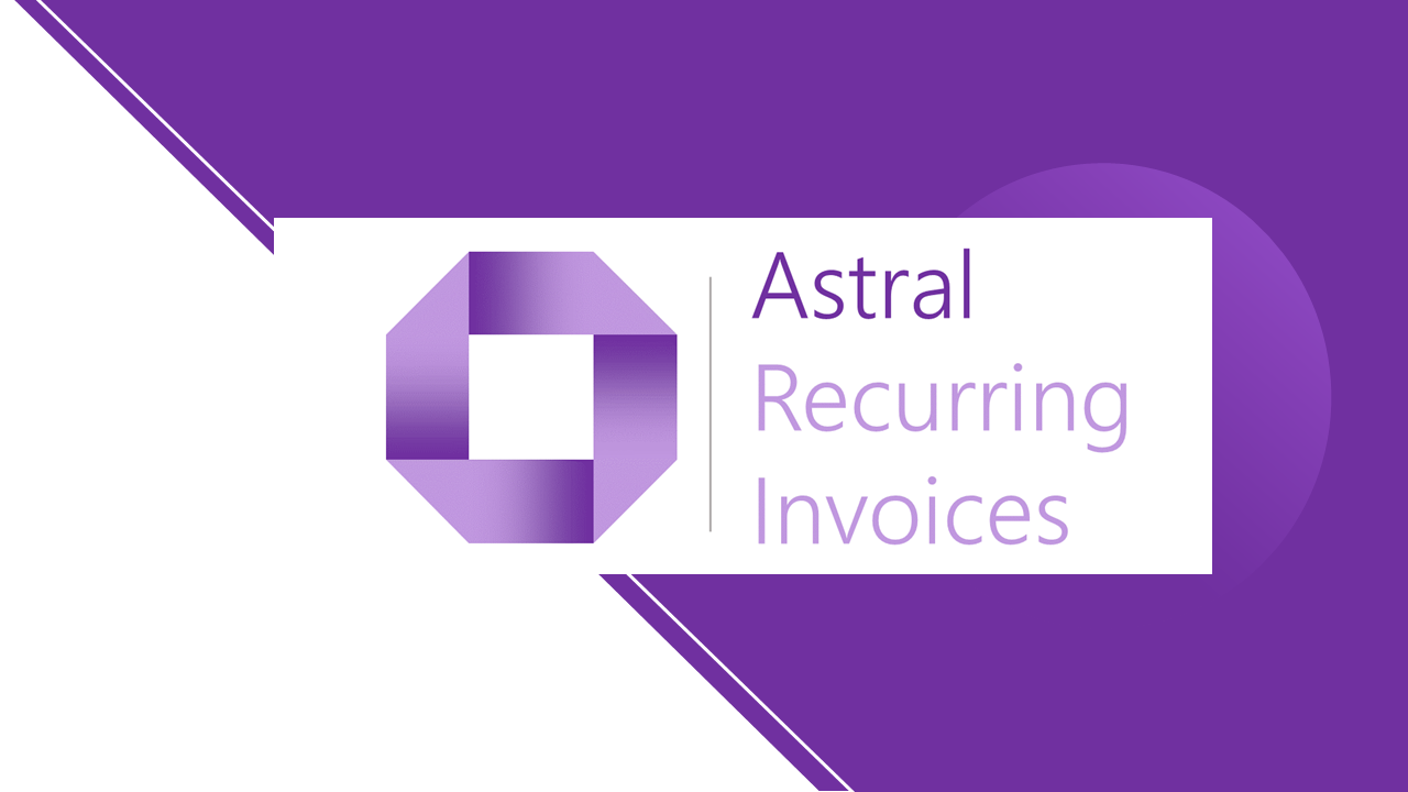 Astral Recurring Invoices